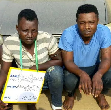 eiye cultists arrested ota ogun state