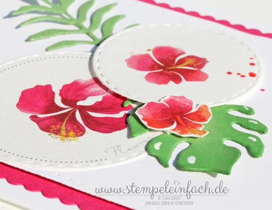 Blumenkarte selber machen