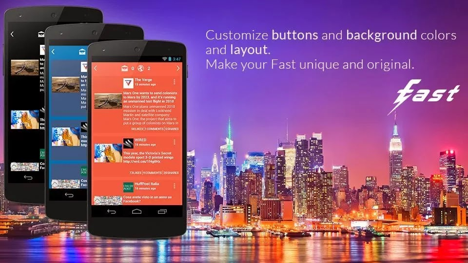 Fast Pro for Facebook v2.4.4 Android Full APK
