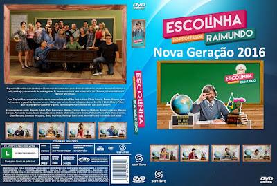 Série Escolinha do Professor Raimundo Nova Geração 2016 DVD Capa