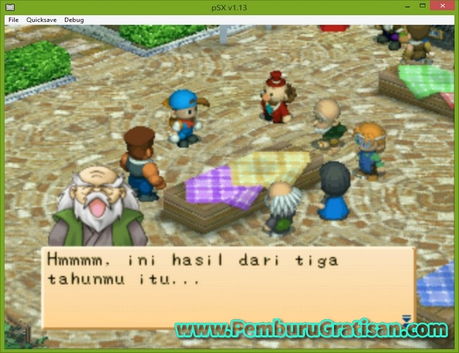 Event Di Harvest Moon Back To Nature