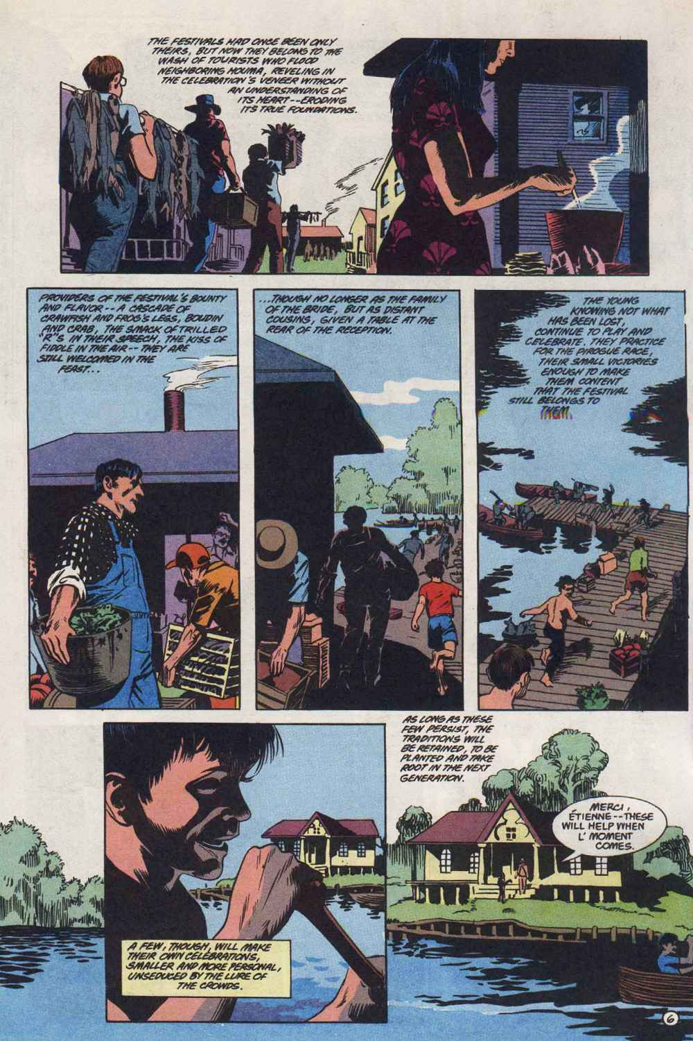 Swamp Thing (1982) Issue #89 #97 - English 7
