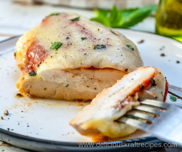LASAGNA STUFFED CHICKEN BREASTS