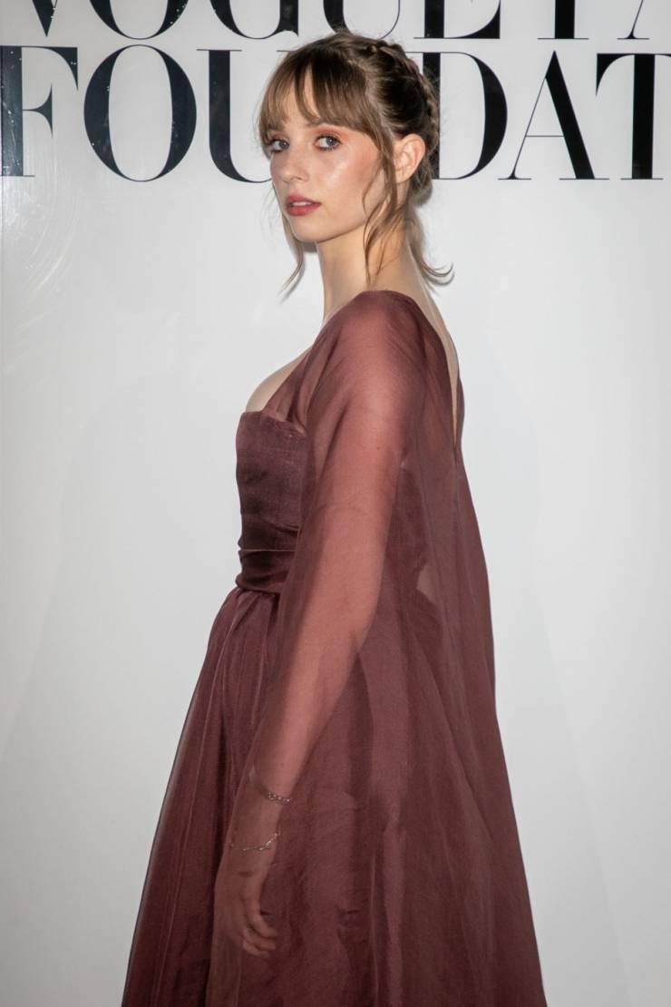 American Model Maya Hawke at Vogue Paris Foundation Gala
