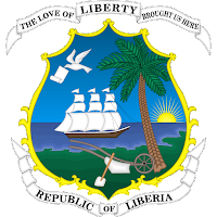 Logo Gambar Lambang Simbol Negara Liberia PNG JPG ukuran 200 px
