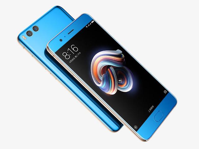 Xiaomi Mi Note 3 a fost prezentat oficial