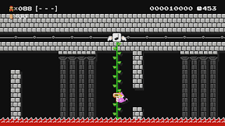 Super Mario Maker Player Stage