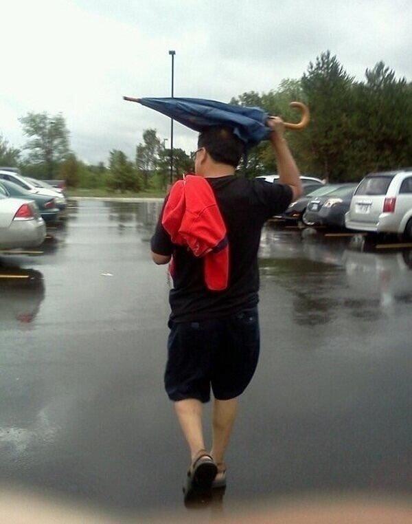 Genius Guy on heavy rain