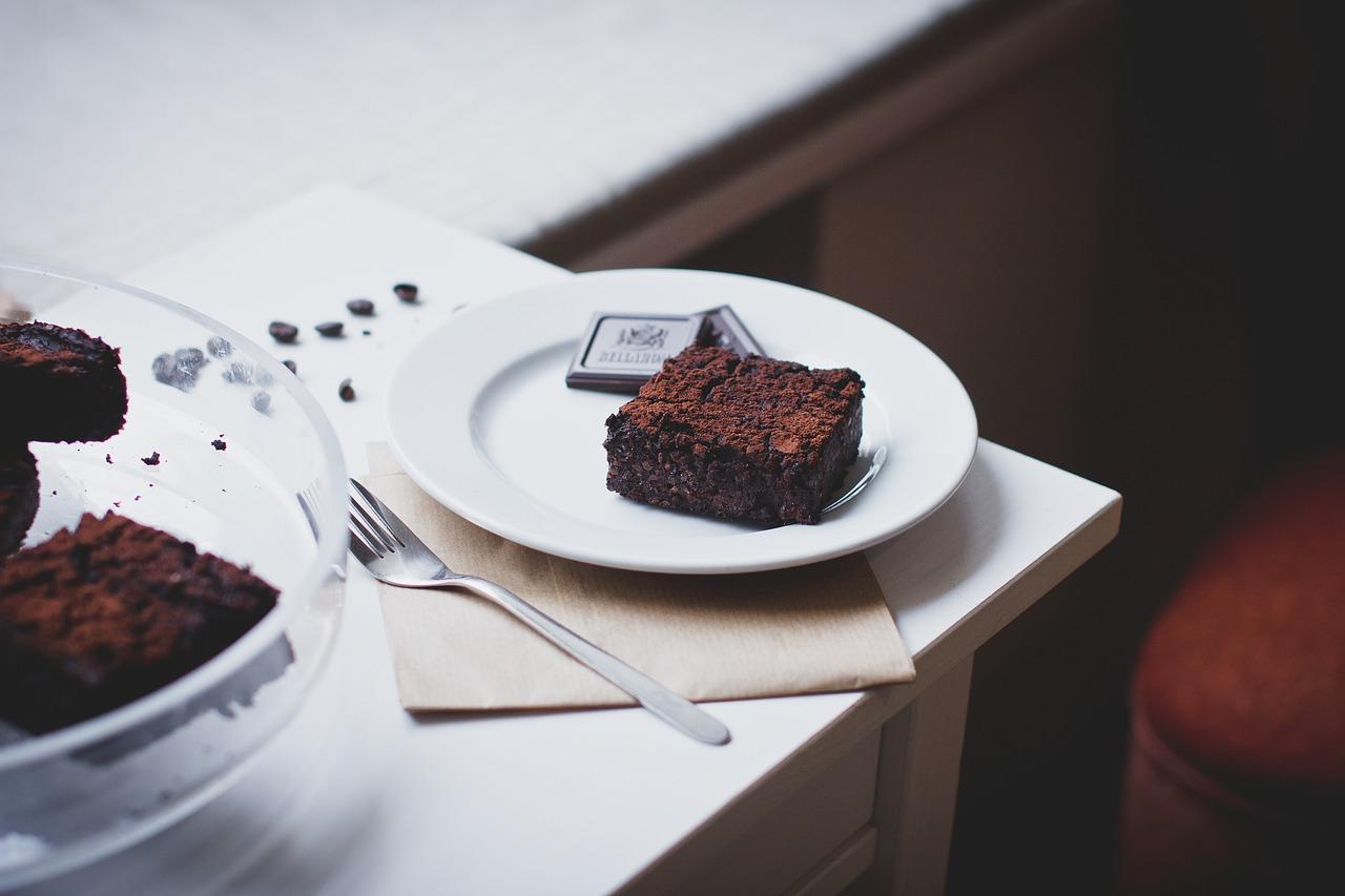fit brownie z awokado