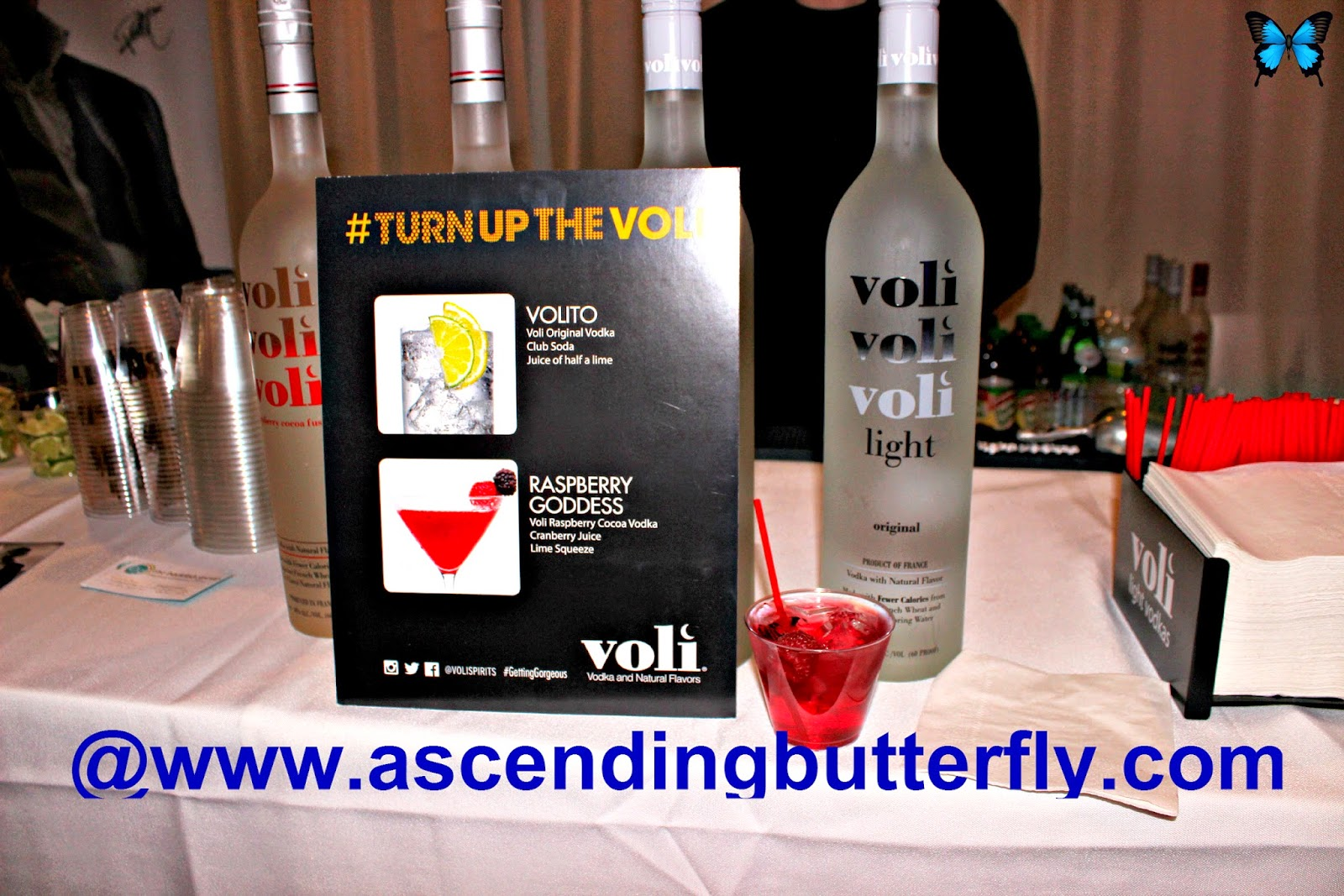 Voli Vodka at Getting Gorgeous 2014
