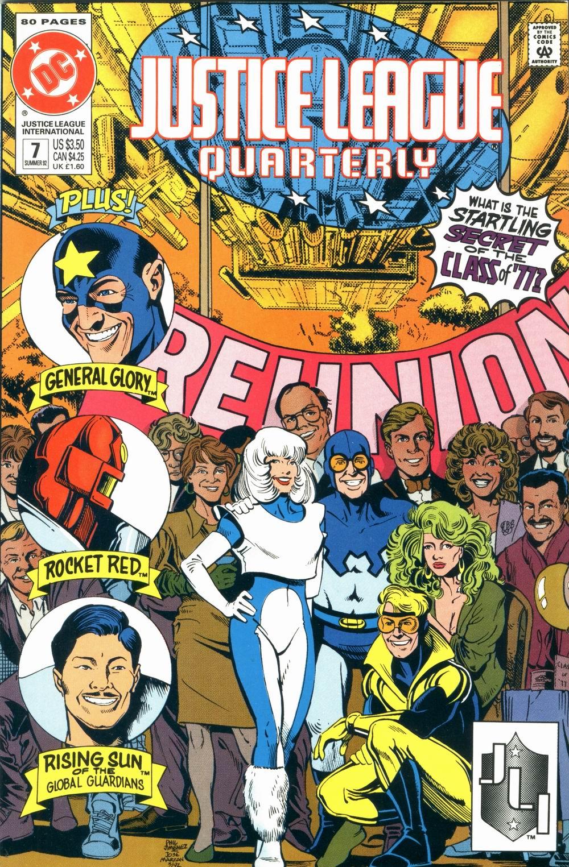 Justice League Quarterly 7 Page 1