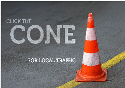 The cone Local traffic Google Chrome Extentions