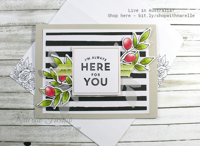 Everything you need is supplied in the Lots of Happy Card Kit to make gorgeous cards like this. Get your kit here - http://bit.ly/2xYobt3
