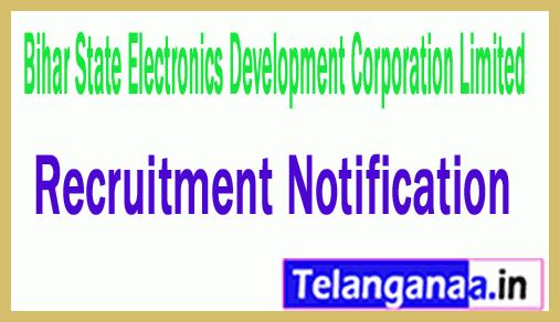 Bihar State Electronics Development Corporation Limited BELTRON Recruitment Notification