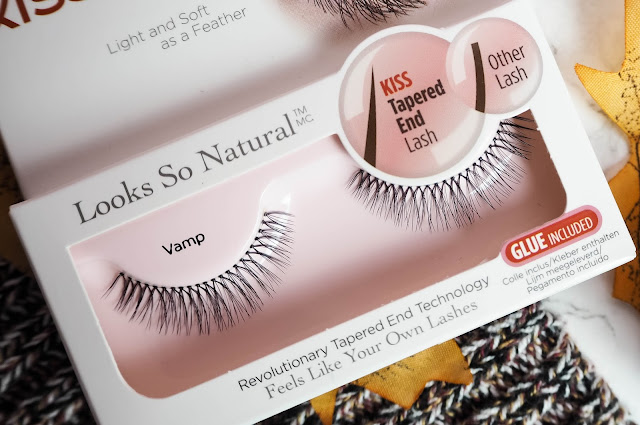 Kiss looks so natural false lashes in vamp review