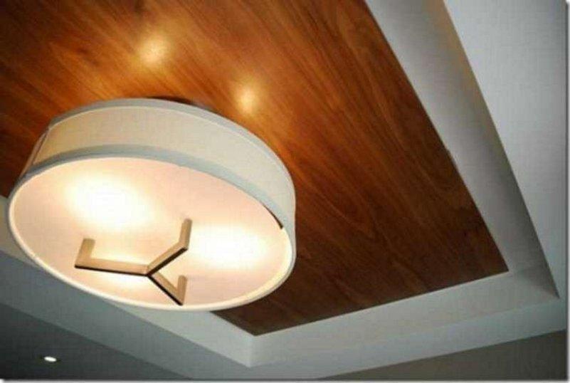 model plafon ruang tamu kecil moderen