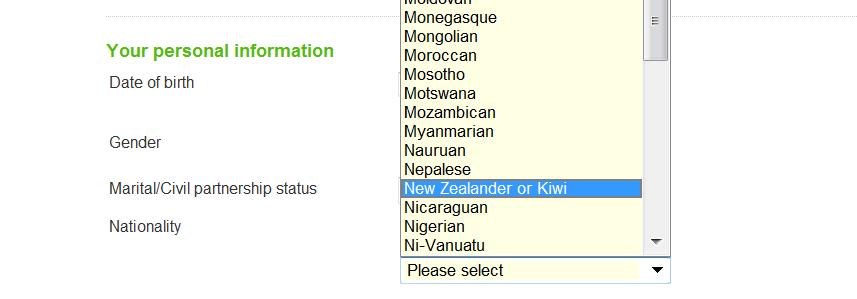 A rare Kiwi Spotting