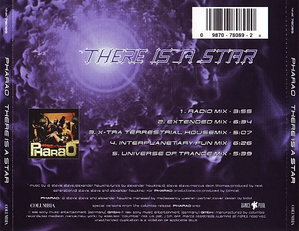 VinylVideo Pharao  There Is a Star 1995