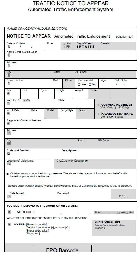 fake parking ticket template printable - free ticket template printable
