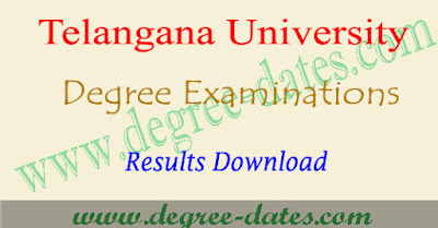 TU degree 2nd year results 2017 telangana university ug final year result date