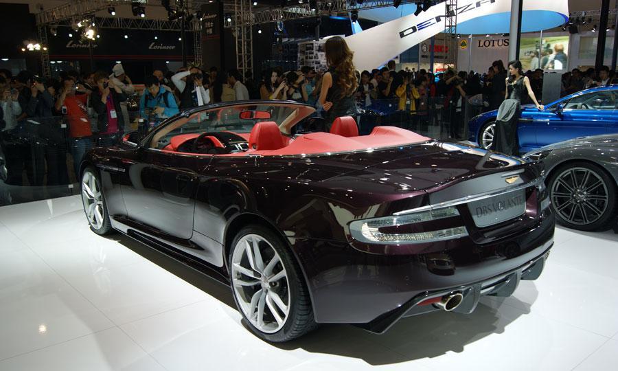 sport car garage aston martin dbs volante dragon 88 limited edition 2012. Black Bedroom Furniture Sets. Home Design Ideas