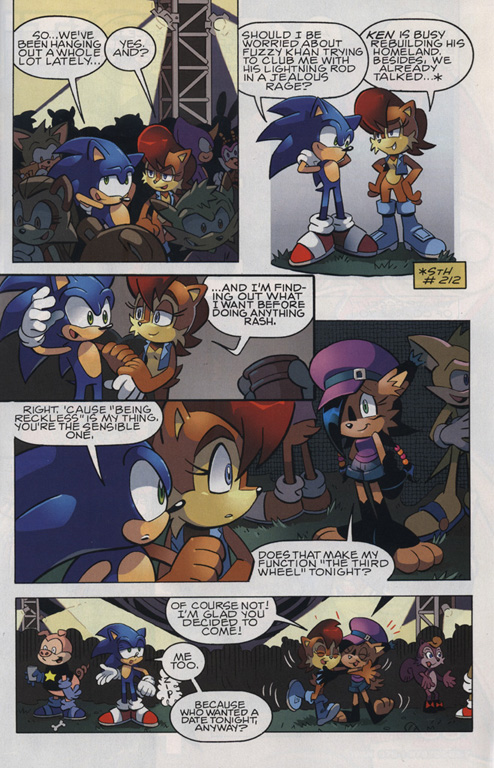 Read online Sonic The Hedgehog comic -  Issue #221 - 4