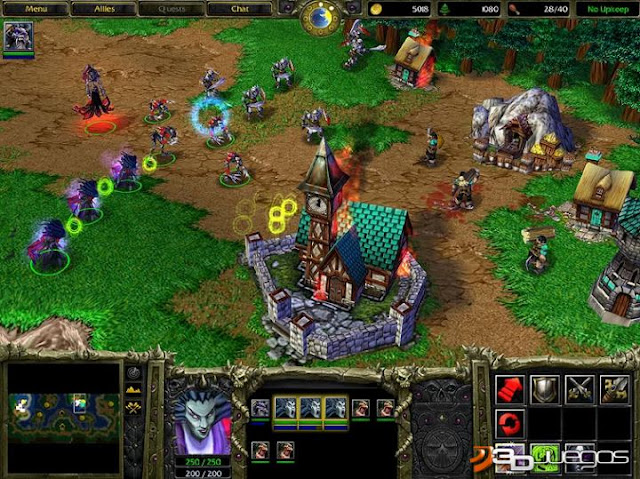 Warcraft III Reign of Chaos Gameplay