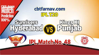 KXIP vs SRH 2019 IPL 48th Match Prediction Today Who Will Win