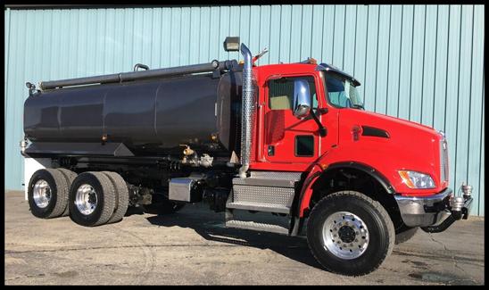 Kenworth T370 Valew Water Tank Truck
