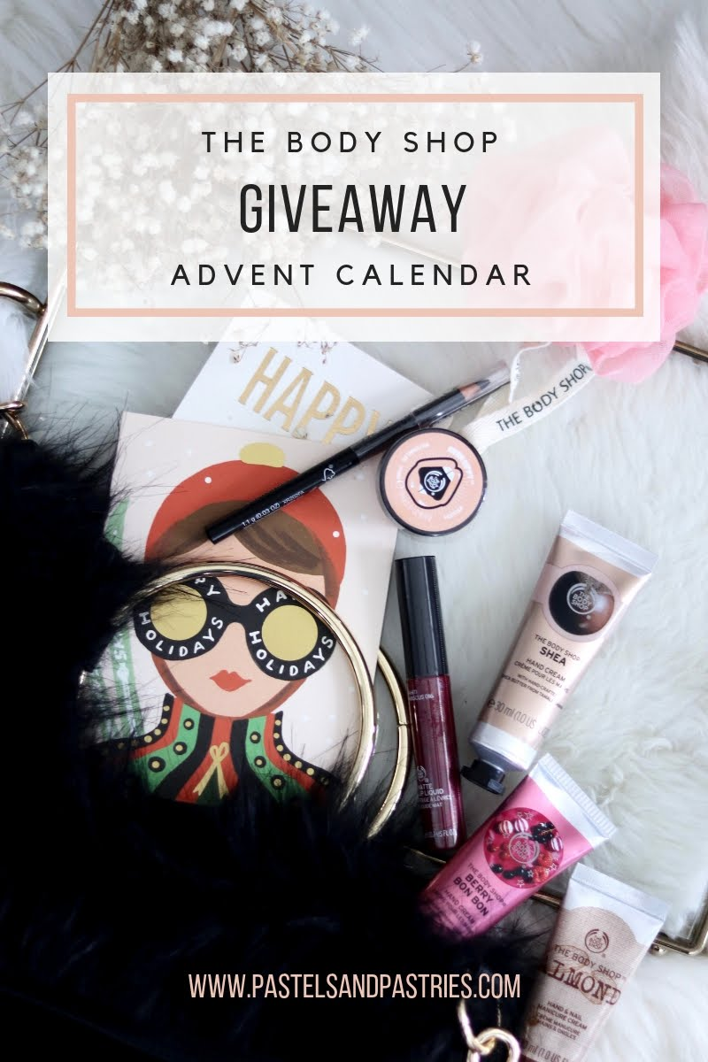 the body shop advent calendar contents 2018