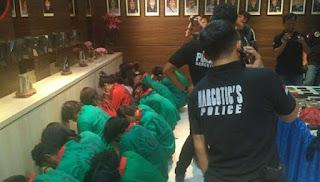 Polres Jakbar Amankan 29 Orang di Cengkareng Terkait Sabu 60 Kg