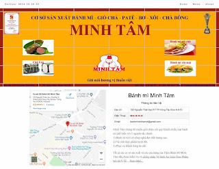 Mẫu template bán hàng trực tuyến cho Blogspot
