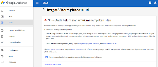 add site review makin sulit