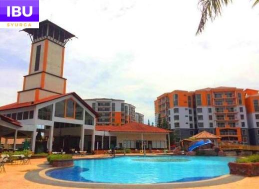 Gold Coast Melaka Resort kolam mandi water theme park