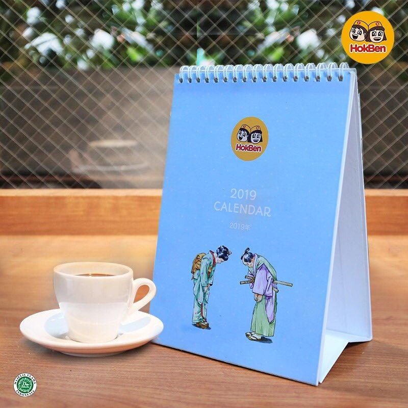 #Hokben - Promo Min Belanja 250K Gratis Kalender 2019 + Ada kupon Voucher 250K