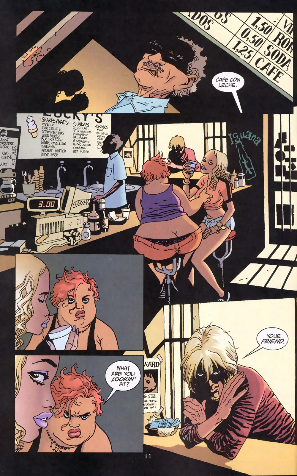 Read online 100 Bullets comic -  Issue #39 - 13