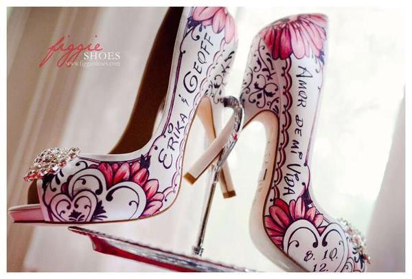 ♥ Buty miłością malowane ♥