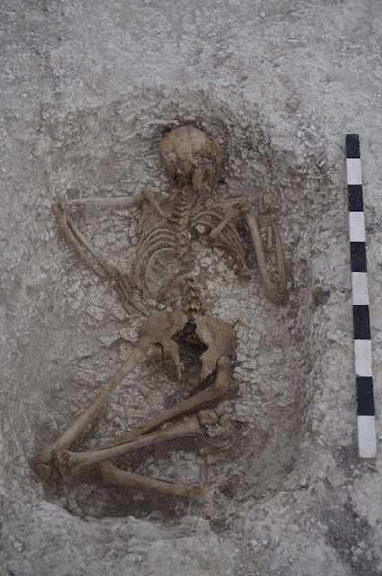 Prehistoric burial ground unearthed at UK army base