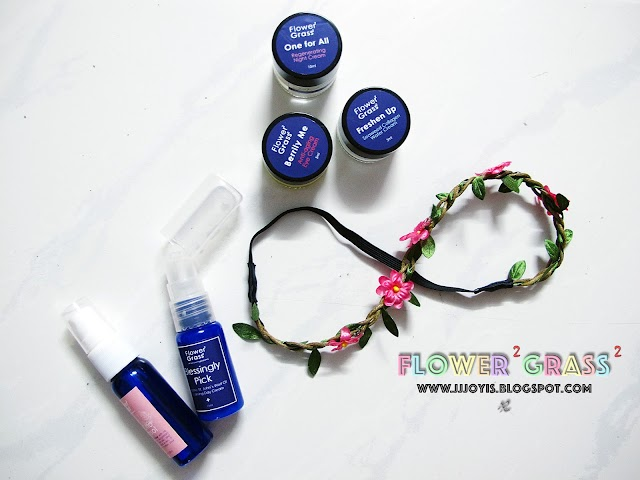 Sponsored Review: Flower² Grass² - Toner, Night Cream, Seaweed Cream, Eye Cream and Day Cream