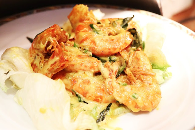 Buffet Shah Alam Menu - Butter Milk Prawn