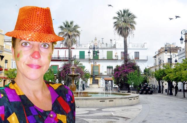 Payasos en Sanlúcar de Barrameda. Animación infantil