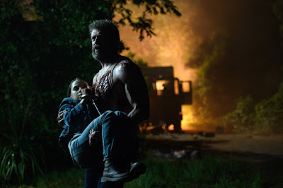 Logan Movie Dafne Keen and Hugh Jackman Image 1 (3)