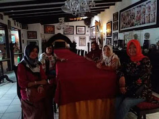 Suasana heritage khas Gadri Resto Jogya