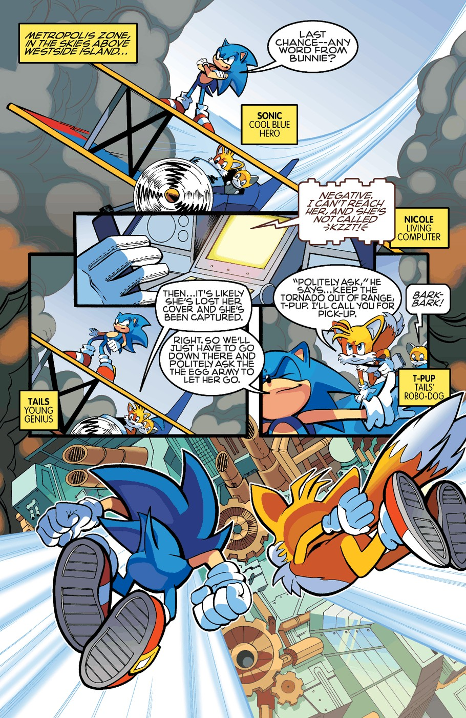 Read online Sonic The Hedgehog comic -  Issue #255 - 4