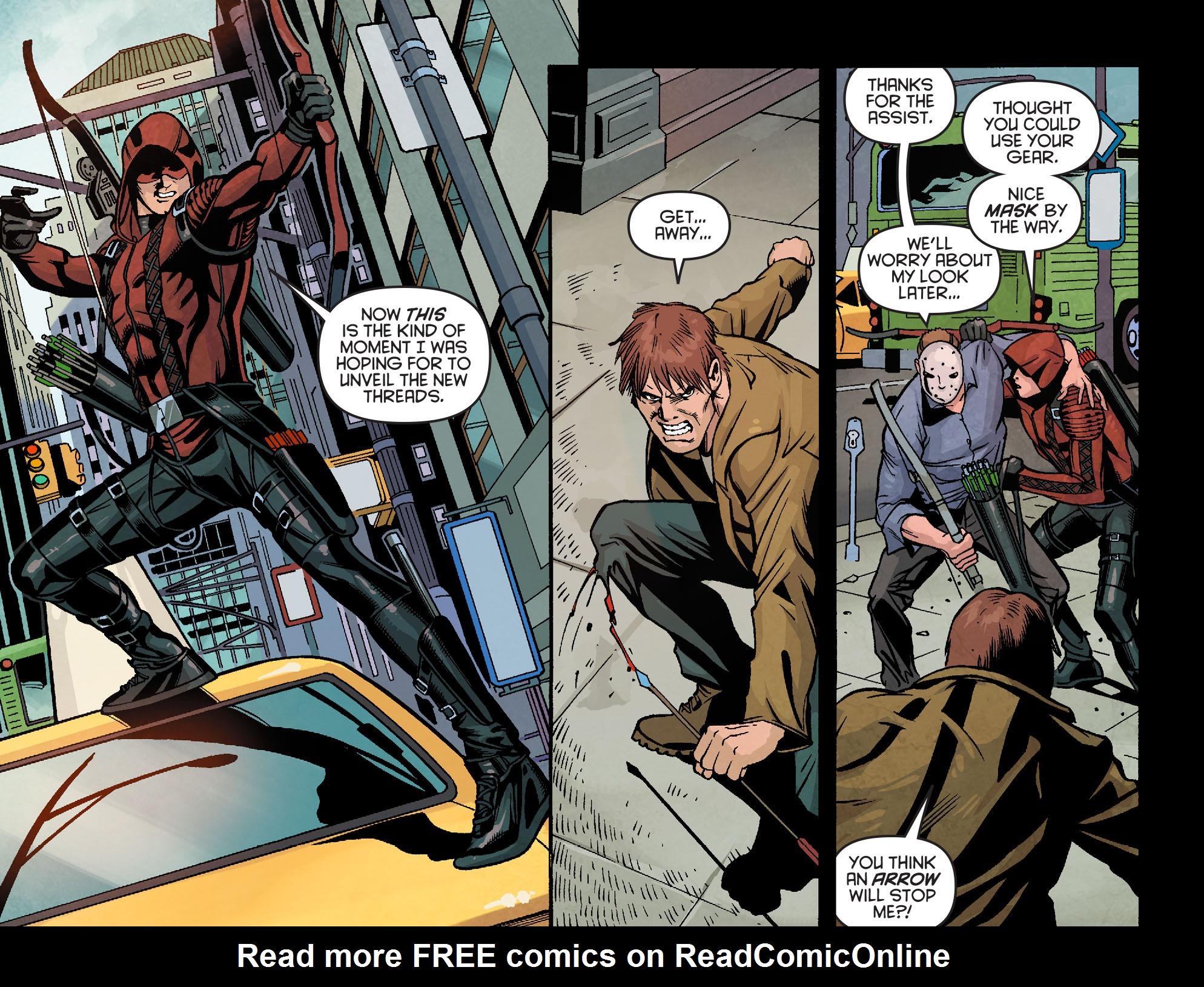 Read online Arrow: Season 2.5 [I] comic -  Issue #18 - 5