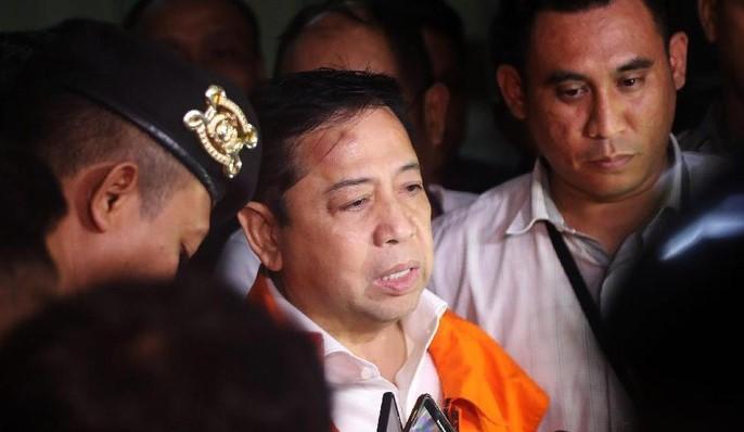 KPK Punya Wewenang Tahan Novanto hingga 120 Hari