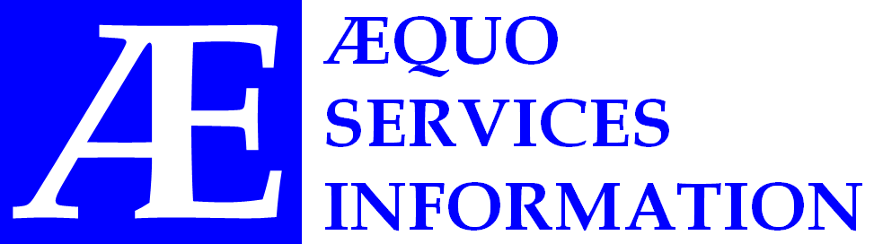 ÆQUO SERVICES INFORMATION