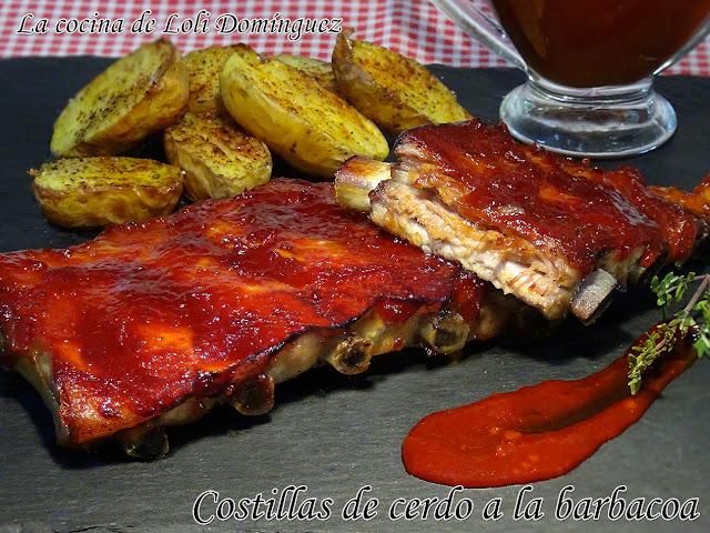 Costillas De Cerdo A La Barbacoa (costillas De Cerdo Bbq)