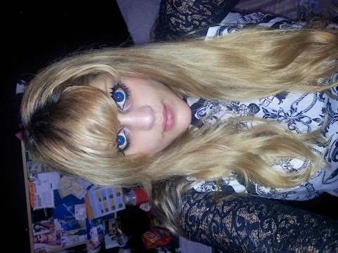 Cute Contacts: VASSEN Hello Kitty Circle Lenses in Blue Review~