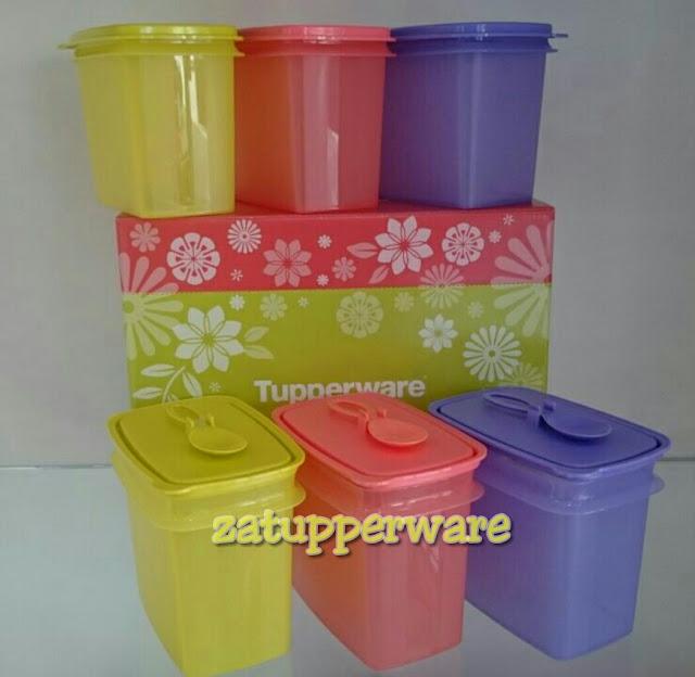 Tupperware Shelf Savers with Spoon Set (6) 840ml